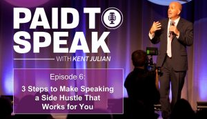 3 Steps to Make Speaking a Side Hustle - How to Become a Speaker