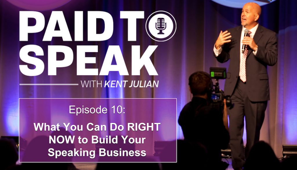 how to build a speaking business right now