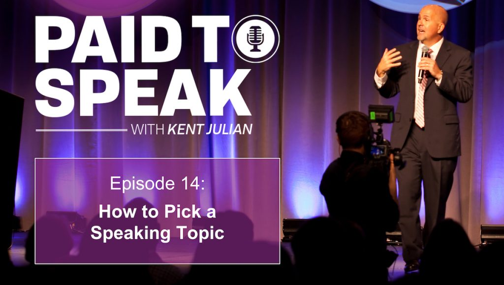 How to Pick a Speaking Topic