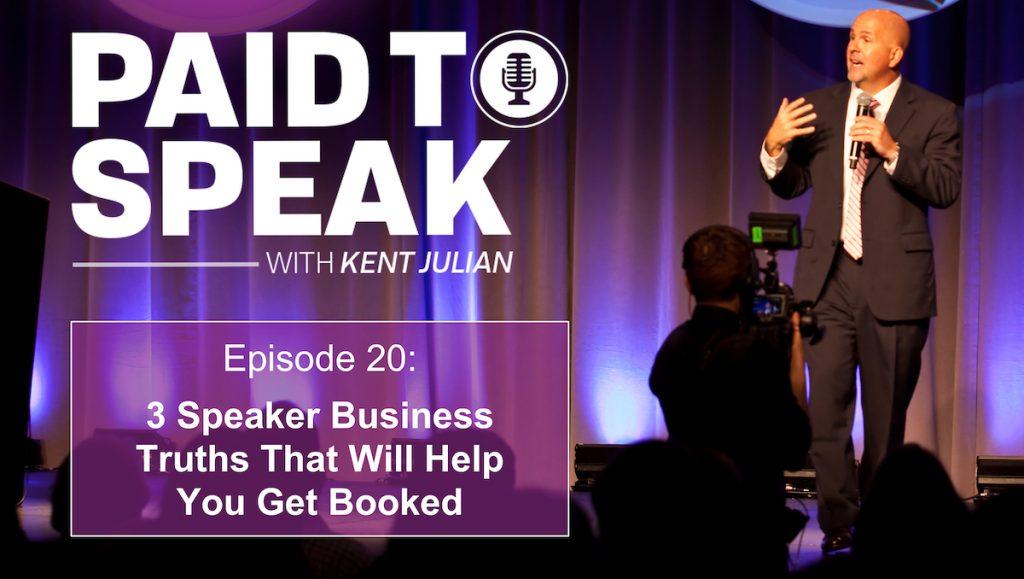 3 Speaker Business Truths