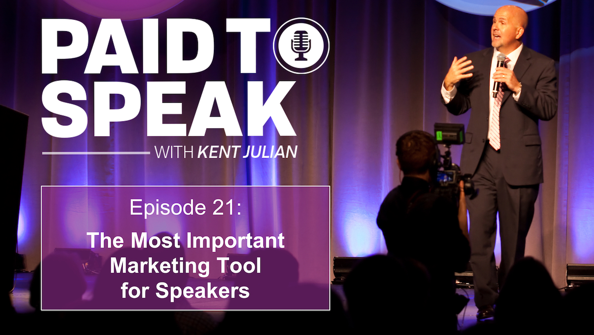 Most Important Marketing Tool for Speakers