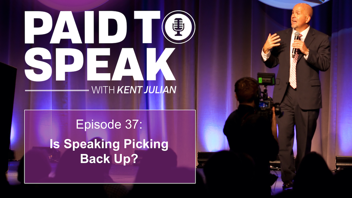 Is Speaking Picking Back Up? In Person Events